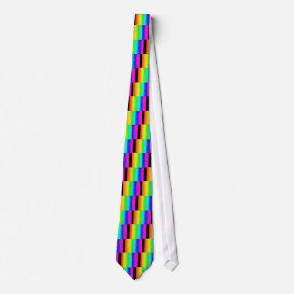 Antique Smudges Rainbow Neck Tie