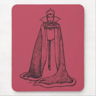 Antique Snow White   Queen Mouse Pad
