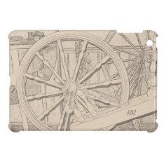 Antique Spinning Wheel Crafts Ipad Mini Case at Zazzle