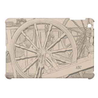 Antique Spinning Wheel Crafts iPad Mini Case