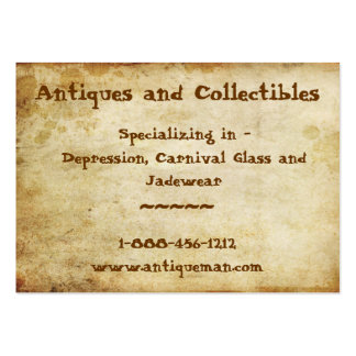 Antique Stained Large Business Cards (Pack Of 100)