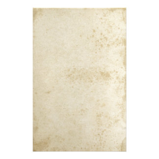 Antique Stained Stationery Paper