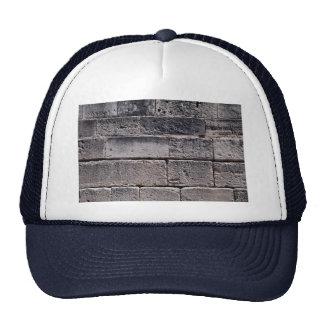 Antique stone wall, Phaistos, Crete, Greece Trucker Hat