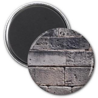 Antique stone wall, Phaistos, Crete, Greece Magnets