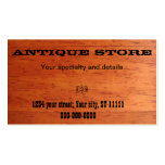 Antique Store Business Card