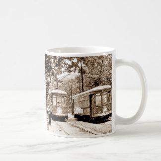 Antique Streetcar Coffee Mug