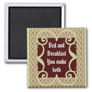 ANTIQUE STYLE BED AND BREAKFAST MAGNET