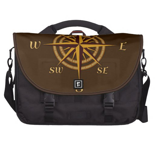 Antique Style Compass Rose Commuter Bags
