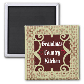 ANTIQUE STYLE GRANDMAS COUNTRY KITCHEN MAGNET