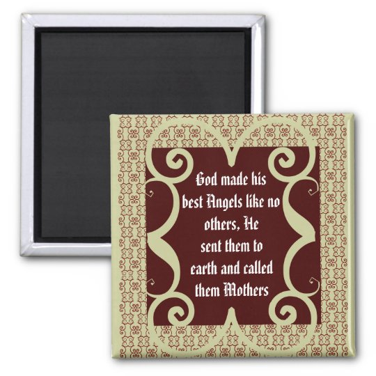 ANTIQUE STYLE MOTHERS POEM MAGNET