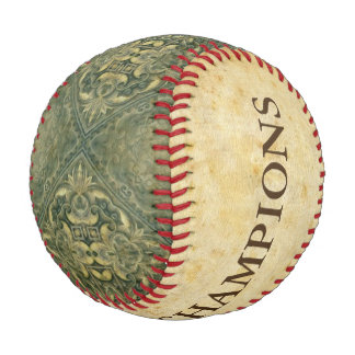 Antique Style Pattern VI + your ideas Baseball
