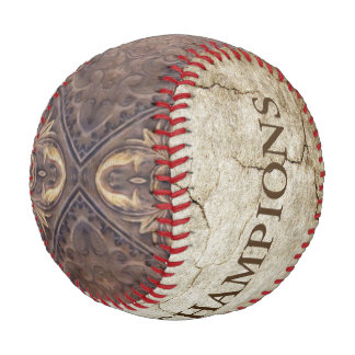 Antique Style Pattern XV + your ideas Baseball