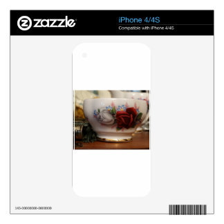Antique Sugar Bowl Decal For The iPhone 4