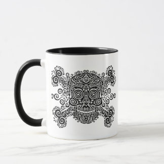 Antique Sugar Skull & Crossbones II Mug