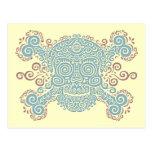 Antique Sugar Skull Post Cards