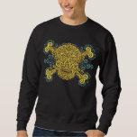 Antique Sugar Skull Pullover Sweatshirt