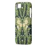 Antique Symmetrical Foliage & White Flowers iPhone 5 Covers