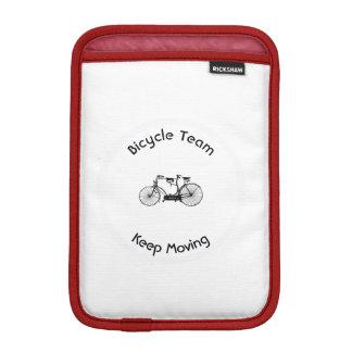 Antique tandem iPad mini sleeve