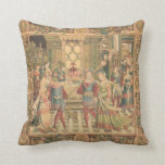 Antique Tapestry Look Cushion Pillow