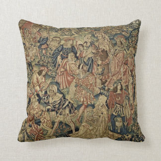 Antique Tapestry Look Cushion Throw Pillows