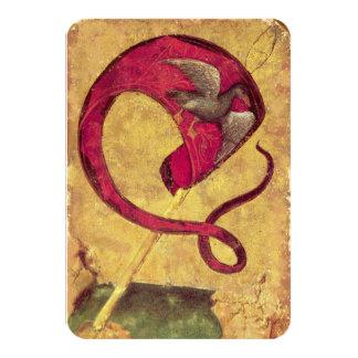 Antique Tarots /German Court Cards/Banner of Ducks Card