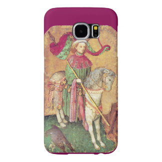 Antique Tarots /German Court Cards/King of Falcons Samsung Galaxy S6 Case