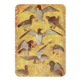 Antique Tarots /German Court Cards/Nine of Ducks Card