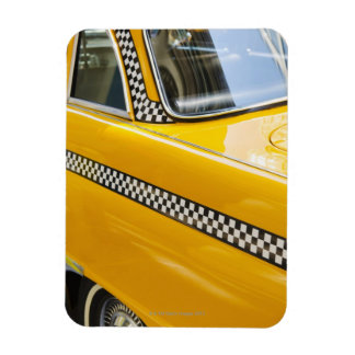 Antique Taxi Magnet