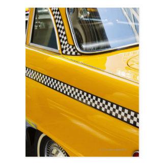 Antique Taxi Postcard