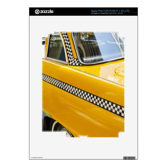 Antique Taxi Skin For iPad 3