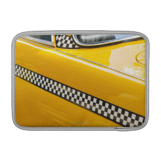 Antique Taxi Sleeve For MacBook Air