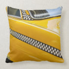Antique Taxi Throw Pillow