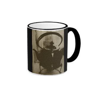 Antique Tea Pot ~mug