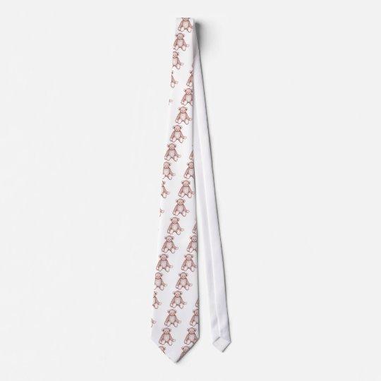 Antique Teddy Bear Neck Tie