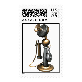 antique Telephone  postage stamps