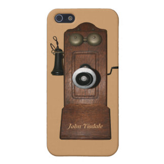 Antique telephone Speck Case with name iPhone 5C
