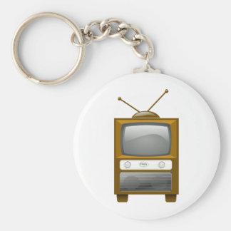 Antique Television Key Chains