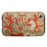 Antique Textile 1 iPhone 3 Tough Case