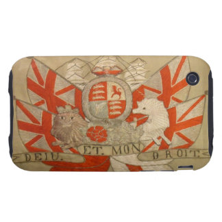 Antique Textile 1 iPhone 3 Tough Cover