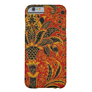 Antique Textile Carpet Red Wallpaper Pattern Barely There iPhone 6 Case