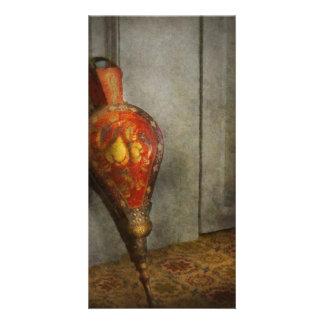 Antique - The bellows Photo Card