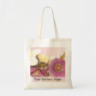 Antique Tone Hellebores and Daffodils Canvas Bags