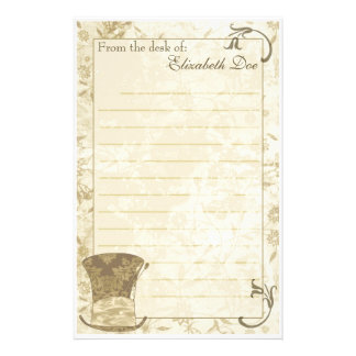 'Antique Top Hat' Stationery