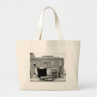 Antique Tow Truck, 1920s Large Tote Bag