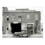 Antique Tow Truck, 1920s Post Cards
