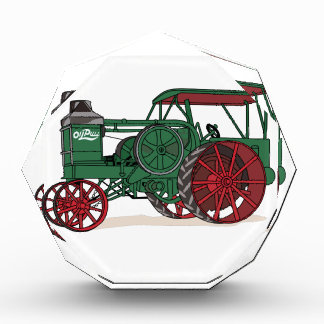 Antique Tractor Acrylic Award