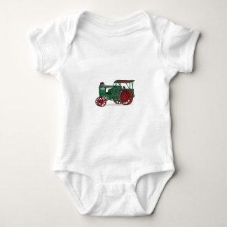 Antique Tractor Baby Bodysuit