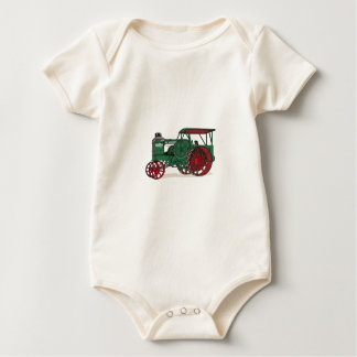 Antique Tractor Baby Bodysuit
