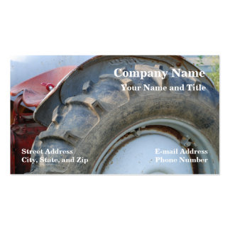 antique tractor Double-Sided standard business cards (Pack of 100)