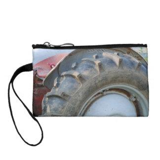 antique tractor change purse